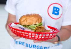 Five Guys and In-N-Out are the inspiration for these burgers, which feature relatively thin, house-ground patties. Potato Sauce, Fish Burger, Mushy Peas, Nut Cheese, Vegan Burgers, Peanut Butter Banana, Soft Serve, Red Beans, Mussels