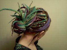 Roving...in hair!