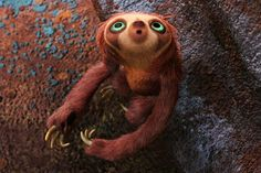 Whoever decided to put this sloth into the movie is a genius. I will buying all the paraphernalia I can find. Well played.