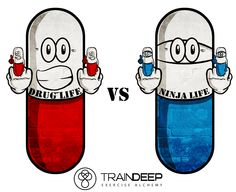 Red pill or the blue pill? Unplug from the matrix and live free, if you dare... http://www.traindeep.com/1/post/2014/05/digital-addiction.html