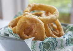 Fried onion Crispy Onions, Fried Onions, Onion Rings, Food To Make, Fries, Side Dishes, Appetizers, Food And Drink, Favorite Recipes