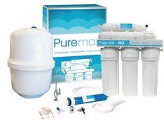 Osmosis domestica Puremax. Equipo de 5 etapas. La osmosis inversa  standard básica homologada por sanidad más económica que encontrarás en el mercado. Con certificado une 149101