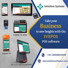 Point Of Sale, Cloud Computing, Pos, Intuition, All In One, Don't Worry, Business, Store, Business Illustration