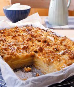 Apfel-Streuselkuchen - Süße Blechkuchen - [LIVING AT HOME]