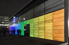 Innovations In Concrete: LUCEM Light Transmitting Panels Create Visual Displays With Fiber Optics [REPORT & PHOTOS] - International Design Times