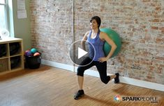 VIDEO: Coach Nicole''s Favorites- Lunges with Ball  - I lost 26 pounds from here EZLoss DOT com #products #fitness