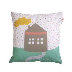 KUSSEN LITTLE HOUSE GROEN | Little | Bibelotte Conceptstore
