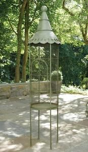 Love this bird cage!  http://www.wellappointedhouse.com/Products/156030-the-well-appointed-house-aviary-tall-iron-birdcage-in-green.aspx