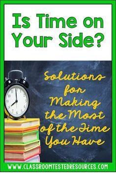 Time saving tips for teachers!