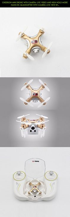 Cheerson Mini Drone with Camera Live Video and High Hold Mode Nano RC Quadcopter with Camera live View by Smartphone #fpv #gadgets #technology #shopping #kit #cheerson #for #tech #drones #drone #camera #racing #plans #products #parts #kids