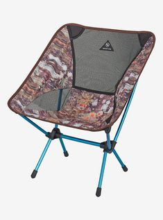 Big Agnes x Helinox x Burton Chair One shown in Day Tripper Print