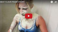 BEST FLOUR PRANK EVER!!! http://justgetideas.com/best-flour-prank-ever/#sthash.DEcztaQg.dpbs