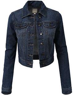 50% OFF SALE PRICE - $22.95 - NE PEOPLE Various Styles High-Waisted Vintage Denim Jacket