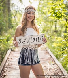 Graduation Signs, Graduation, Class of 2016, Senior Photo Props, Nursery signs, 5 1/2 x 16 by thebackporchshoppe on Etsy https://www.etsy.com/listing/254942002/graduation-signs-graduation-class-of