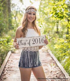 Graduation Signs, Graduation, Class of 2016, Senior Photo Props, Nursery signs, 5 1/2 x 16 by thebackporchshoppe on Etsy https://www.etsy.com/listing/254942002/graduation-signs-graduation-class-of