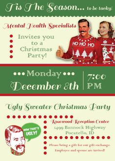 Ugly Sweater Party Invitation Wording Ugliest christmas sweaters