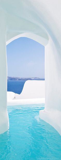 Oia Hotel, Santorini, Greece Two of my fav towns in one caption? Lovely Oia and the breathtaking Santorini. Places Around The World, Oh The Places You'll Go, Places To Travel, Places To Visit, Around The Worlds, Vacation Destinations, Dream Vacations, Vacation Spots, Vacation Places