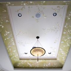 ornate ceiling with downlights - too ugly?