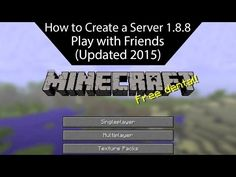 How To Make A Minecraft Server NO PORT FORWARDING DIRECT - Minecraft server erstellen 1 8 cracked