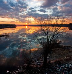 First Winter Day's End by Denise Worden Photography, via Flickr