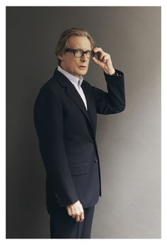 BILL NIGHY - TOWN MAGAZINE - marksanders **Bill Nighy is my ultimate celebrity crush. Forever.