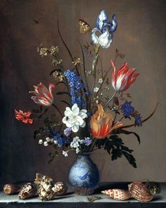 "https://flic.kr/p/qZTHyw | Still Life with Flowers Shells and Insects. Balthasar van der Ast (1594 – 1657) | From the image collection of Swallowtail Garden Seeds. This photograph is in the public domain. We hope you will enjoy these images as much as we do. To let us know you like them, to help others discover the collection, attribute to <a href=""http://www.swallowtailgardenseeds.com"" rel=""nofollow"">www.swallowtailgardenseeds.com</a>"