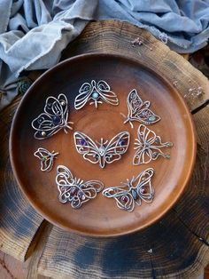 Please look at this butterflies collection! I'm sure you can find here your best silver necklace! ✨ And I will be happy to send it next day after payment. Just my Etsy shop will be on vacation soon. Hurry up!