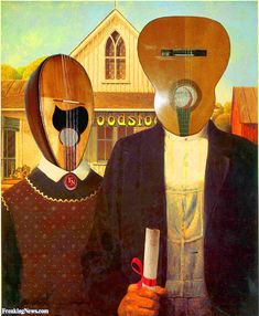 American Gothic Guitar Heads Pictures - Freaking News