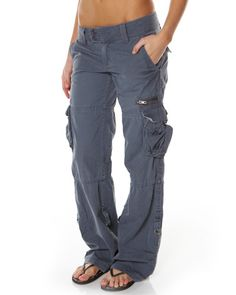 SURFSTITCH - WOMENS - PANTS - CARGO - RUSTY VICTORY PANT - TWILIGHT