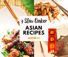 Throw away that takeout menu! These Asian slow cooker recipes have a variety of options from slow cooker Asian chicken to slow cooker Korean beef. Slow Cooker Korean Beef, Crock Pot Slow Cooker, Slow Cooker Chicken, Crockpot, Slow Cooker Desserts, Slow Cooker Recipes, Asian Recipes, Asian Foods, Asian Chicken