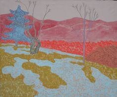 Early Spring (1978) Painting by March Avery from Marin-Price Galleries
