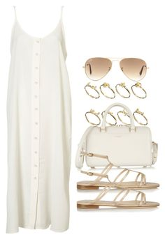 """Style #7701"" by vany-alvarado ❤ liked on Polyvore featuring Topshop, ASOS, Yves Saint Laurent, Jimmy Choo and Ray-Ban"