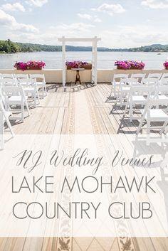 nj wedding venues north jersey wedding venue lake mohawk country club in sparta