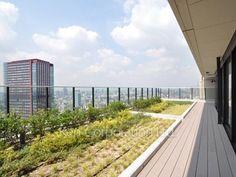 long long roof balcony
