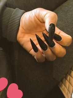 nail polish for sale Aycrlic Nails, Sexy Nails, Glam Nails, Dope Nails, Trendy Nails, Hair And Nails, Best Acrylic Nails, Acrylic Nail Designs, Long Stiletto Nails