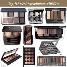 Top 10 Best Eyeshadow Palettes