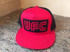 UFC Ultimate Fighting Championship Snapback Hat CAP MEN S RED   BLACK W  MESH  fashion   ed78b3951e74