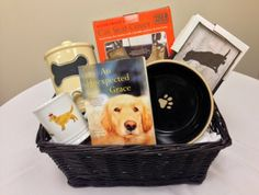 A lovely gift basket!  Someone will wi it at my virtual book signing for AN UNEXPECTED GRACE, Wednesday, January 29 at 6 pm EST.  http://www.shindig.com/event/an-unexpected-grace