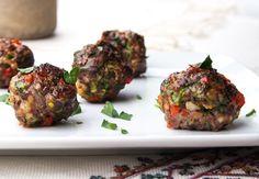 Italian Garden Meatballs. Good for south beach diet