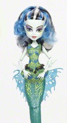 Frankie Stein Great Scarier Reef Monster High #MH #Monsterhigh