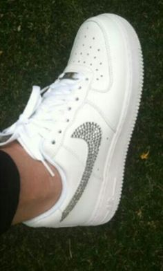 Nike Air Force Con Brillantini