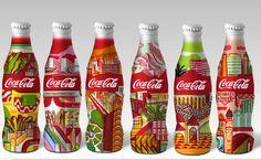 Aktuell cria garrafas especiais para Coca-Cola em homenagem às cidades-sede da Copa - Belo Horizonte, Brasília, Fortaleza, Recife, Rio de Janeiro e Salvador -, que receberão tb os jogos da Copa das Confederações, em 2013.