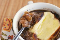 Guiness French Onion Soup by fakeginger  @Ashley Orifice can we put this on our list of family dinners?