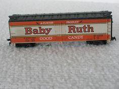 HO Scale NADX Baby Ruth Chug - Chug Box Car # 5324  on eBay now