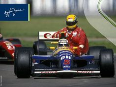 July 14th of 1991, was marked by an iconic scene in F1. Ayrton Senna took a ride on Nigel Mansell's Williams. Remember the full story, involving that season's two main characters: http://bit.ly/1CBMkSB #SennaSempre (via Ayrton Senna - Facebook)