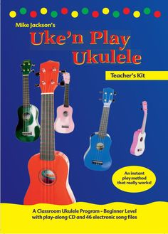 Mike Jackson is one of Australia's favourite live children's entertainers. Most famous for his release of 'Bananas in Pyjamas' and his most requested song 'Dr Knickerbocker', Mike lives to inspire and encourage a love of music in everyone he meets.  NEWS FLASH! UKE'N PLAY UKULELE for Absolute Beg