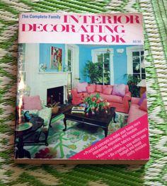 Vintage Decorating Book - a resource here at Laloba Vintage! Bought from our Neighbours - Millpond Records and Books!