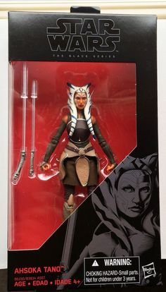 Picture is stock footagePlease read description New, UnopenedHasbroDisneyStar Wars The Black SeriesNo. 20AHSOKA TANO6 inch Action Figure The right fro... #inch #action #figure #tano #ahsoka #wars #black #series #star