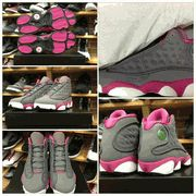 """GS AIR JORDAN 13 """"COOL GREY""""/MARCH 16 2013/PRE-ORDER YOUR'S NOW!"""