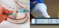 A pasta de dente pode limpar muito mais que somente a boca.